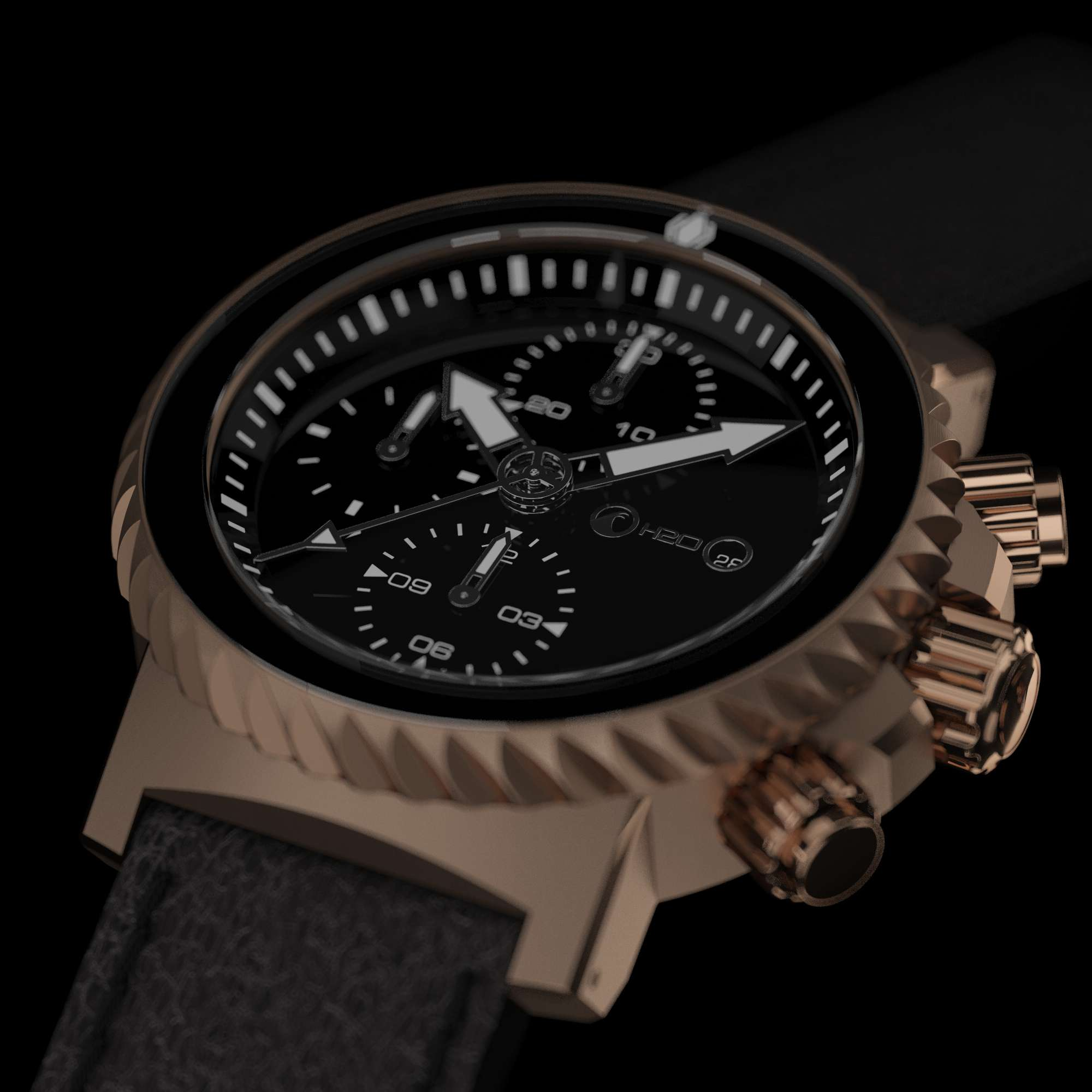 orca madrid watch gentleman distinguished the watches ride with zenith s