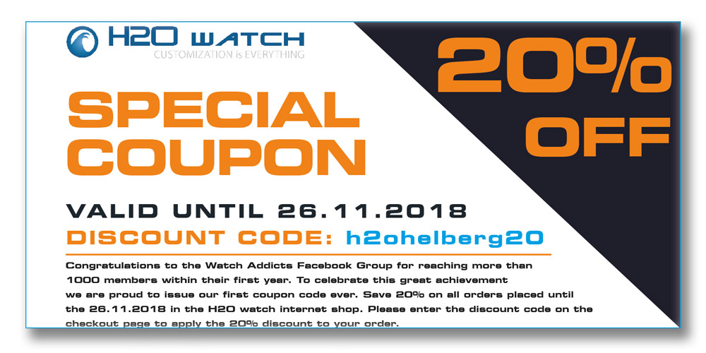 20 Off At H2o Helberg 11 23 11 26 Only Watchintyme
