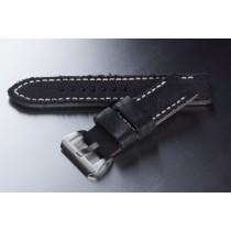 Canvas Armband / Schwarz