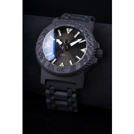 H2O KALMAR 2 CARBON / DIAL 61 / SUNBURST DARK ANTHRACITE