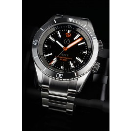 H2O NAVALE LIMITED EDITION 2020 / BLACK DIAL / STRAIGHT HANDSET