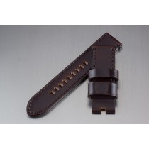 Horween Shell Cordovan Strap / Burgundy