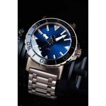 H2O KALMAR 2 MOKUME GANE / DIAL 62 BLUE / PROTRUDING CRYSTAL