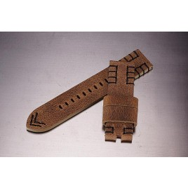 Leather Strap / light brown / 24mm