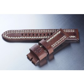 Leather Strap / Dark brown