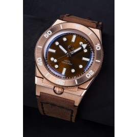 H2O TIBURON BRONZE / DIAL S BROWN